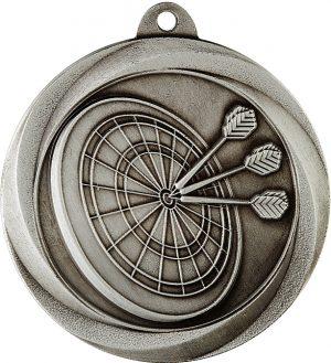 Darts Econo Medal Silver