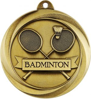 Badminton Econo Medal Gold