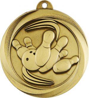 Tenpin Econo Medal Gold