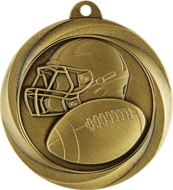 American Football Econo Medal Gold