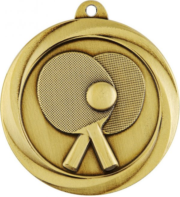 Table Tennis Econo Medal Gold