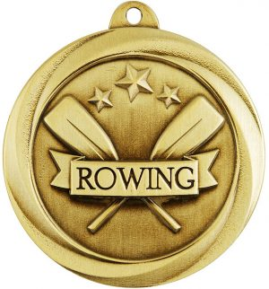 Rowing Econo Medal Gold