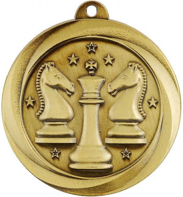 Chess Econo Medal Gold