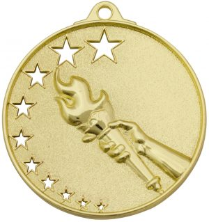 Victory Stars Medal Gold