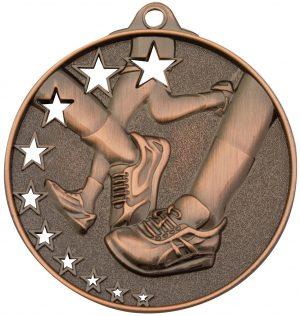 Running Stars Medal Bronze