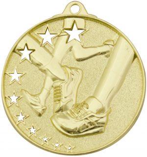 Running Stars Medal Gold
