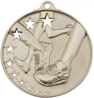 Running Stars Medal Silver