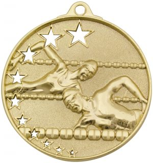 Swim Stars Medal Gold