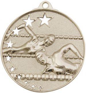 Swim Stars Medal Silver