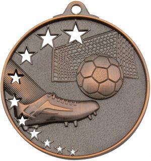 Soccer Stars Medal Bronze