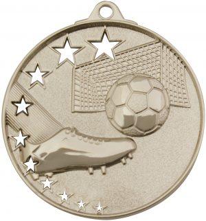 Soccer Stars Medal Silver
