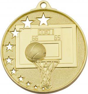 Basketball Stars Medal Gold
