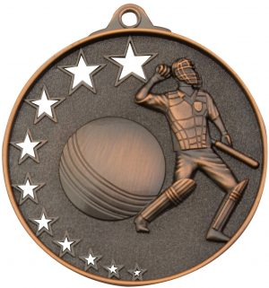 Cricket Stars Medal Bronze