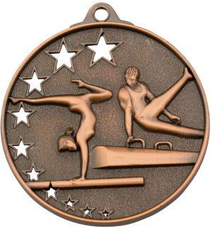 Gymnastics Stars Medal Bronze