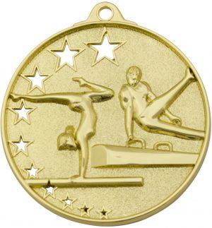 Gymnastics Stars Medal Gold