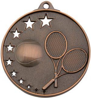 Tennis Stars Medal Bronze