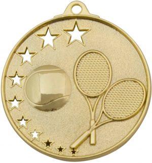 Tennis Stars Medal Gold