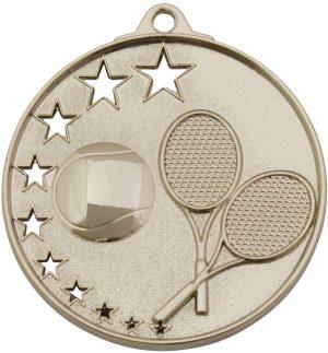 Tennis Stars Medal Silver