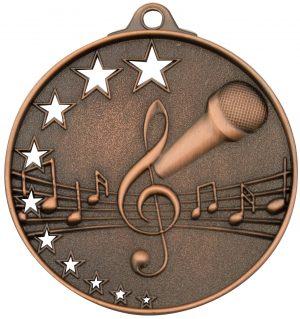 Music Stars Medal Bronze