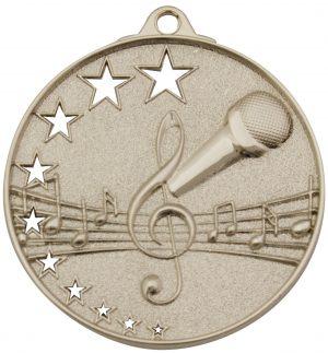 Music Stars Medal Silver