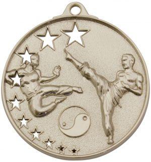 Karate Stars Medal Silver