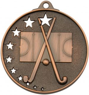 Hockey Stars Medal Bronze