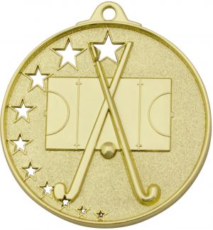 Hockey Stars Medal Gold