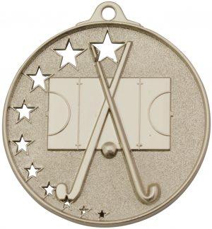 Hockey Stars Medal Silver