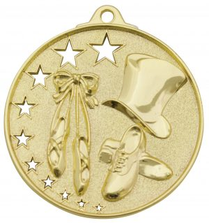 Dance Stars Medal Gold