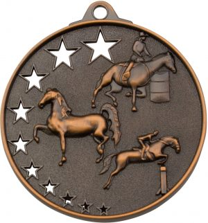 Horse Stars Medal Bronze