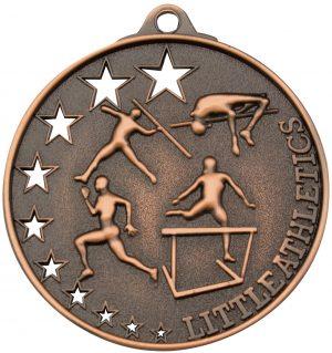 Little Athletics Stars Medal Bronze