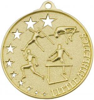 Little Athletics Stars Medal Gold