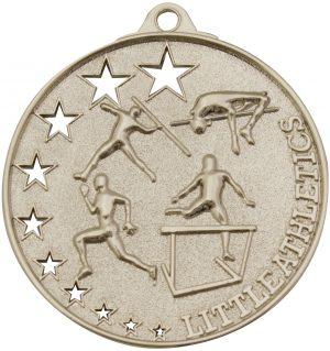 Little Athletics Stars Medal Silver