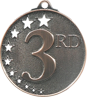 Third Place Stars Medal Bronze