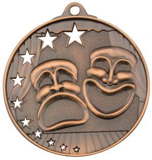 Drama Stars Medal Bronze