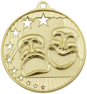 Drama Stars Medal Gold
