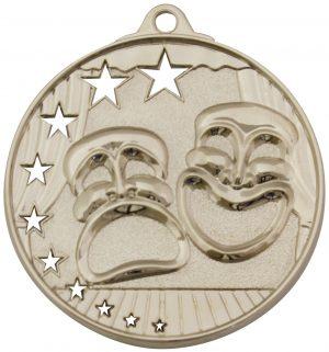 Drama Stars Medal Silver