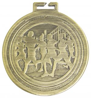 Cross Country Aura Loop Medal