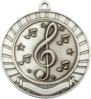 Eco Scroll Music Silver