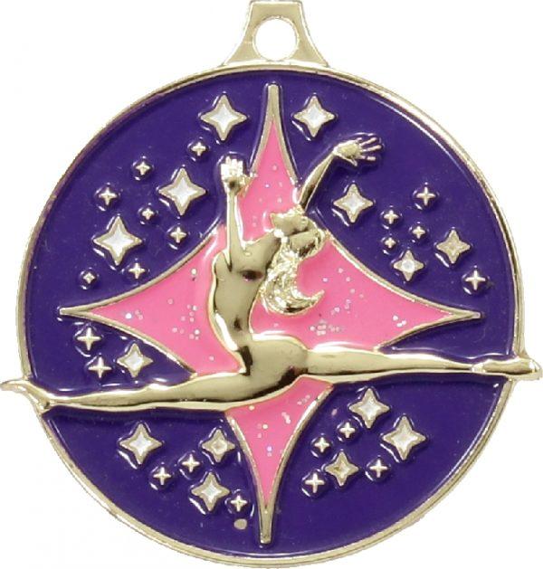 Dance Medal Silhouette