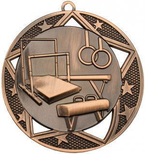 Gymnastics Galaxy Medal Bronze