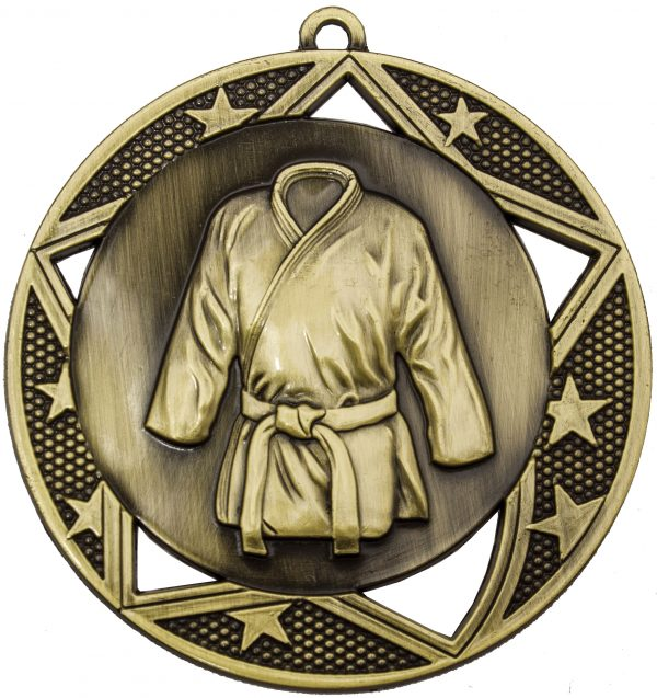 Martial Arts Galaxy Medal Gold