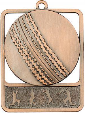 Cricket Medal Rosetta Bronze