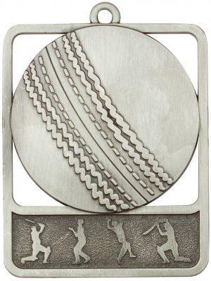 Cricket Medal Rosetta Silver