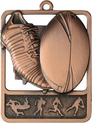 Rugby Medal Rosetta Bronze
