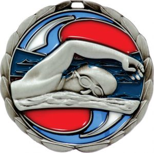 Swim Stained Glass Silver