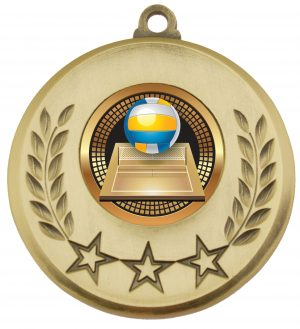 Laurel Medal Volleyball Gold