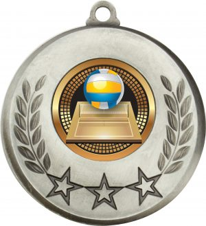 Laurel Medal Volleyball Silver
