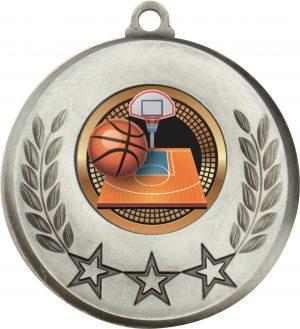 Laurel Medal Basketball Silver