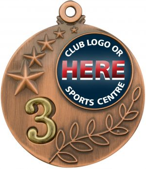 Medal Two Tone 3rd